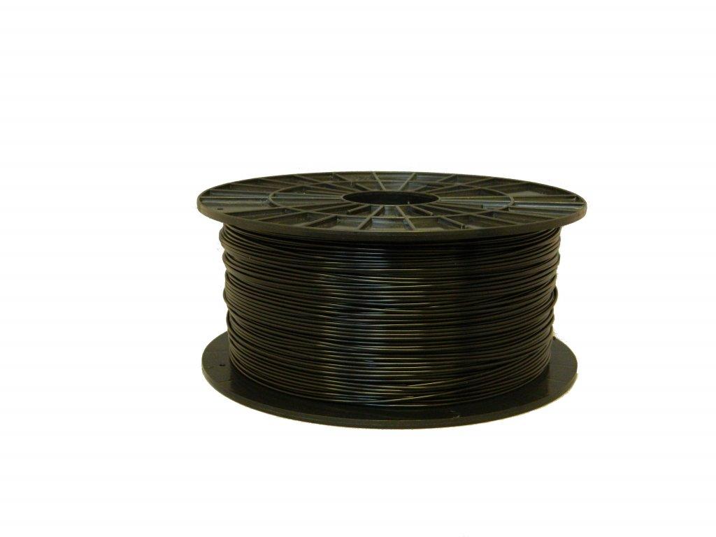 Tlačová struna ABS, Plasty Mladeč, 2,90mm black, 1 kg