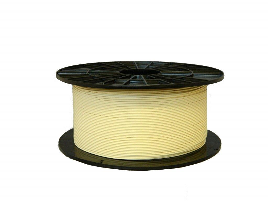 Tlačová struna, Plasty Mladeč, PLA, 1,75mm, beige, 1 kg