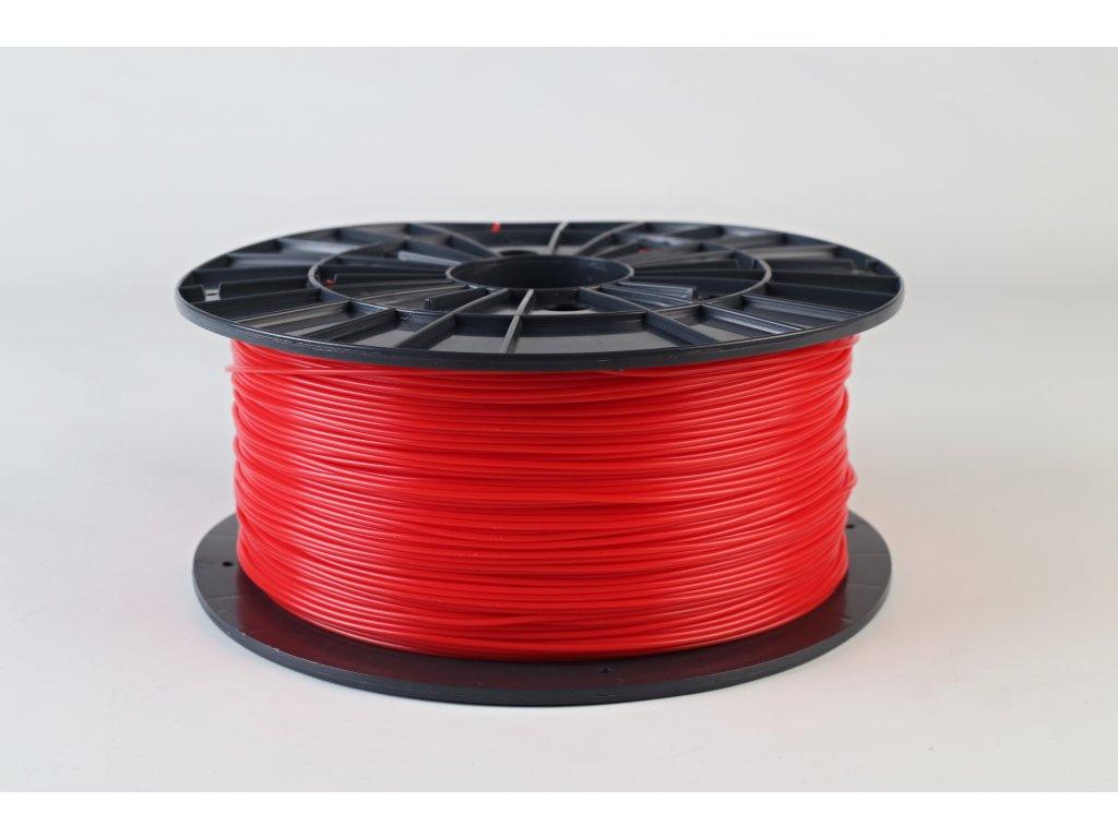 Tlačová struna, Plasty Mladeč, PLA, 1,75mm, red, 1 kg