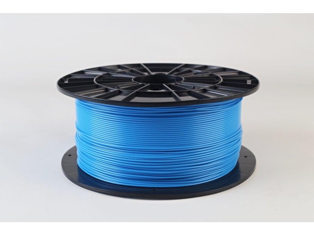 Tlačová struna, Plasty Mladeč, PLA, 1,75mm, blue, 1 kg
