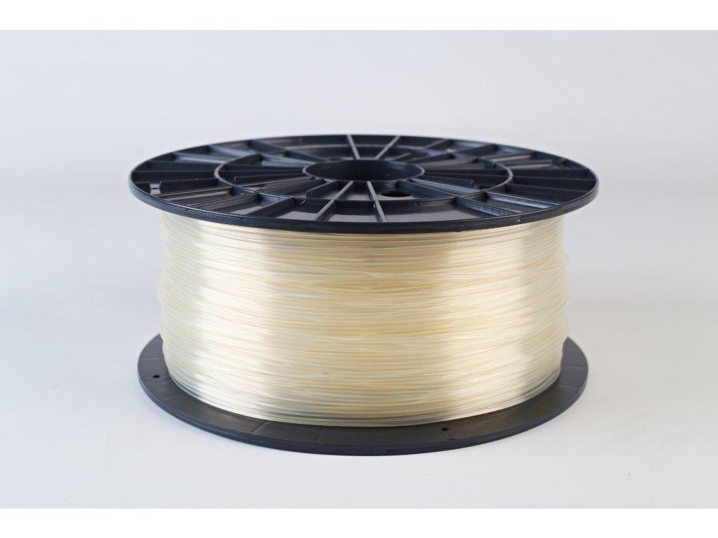 Tlačová struna, Plasty Mladeč, PLA, 1,75mm, transparent, 1 kg