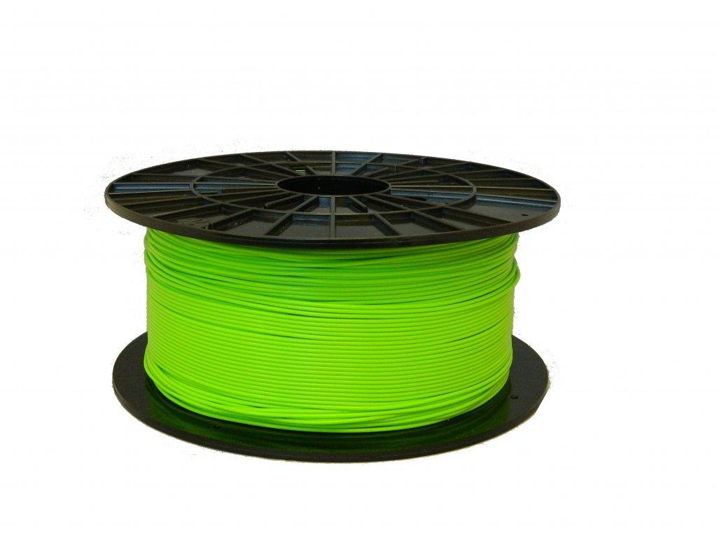Tlačová struna, Plasty Mladeč, PLA, 1,75mm, greenyellow, 1 kg
