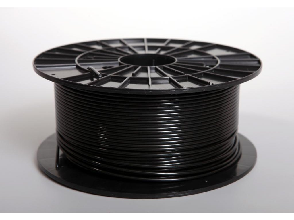 Tlačová struna, Plasty Mladeč, PLA, 2,90mm, black, 1 kg