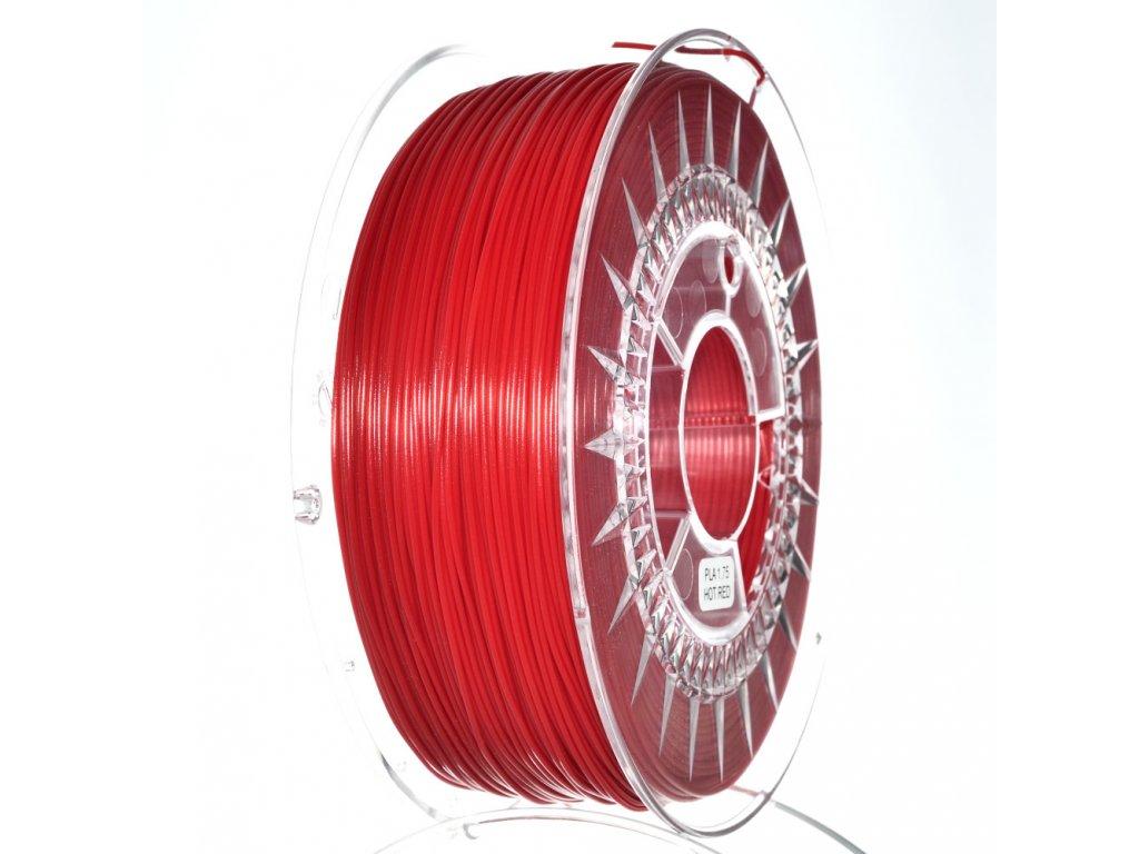 Devil Design tlačová struna PLA, hot red, 1,75 mm, 1 kg