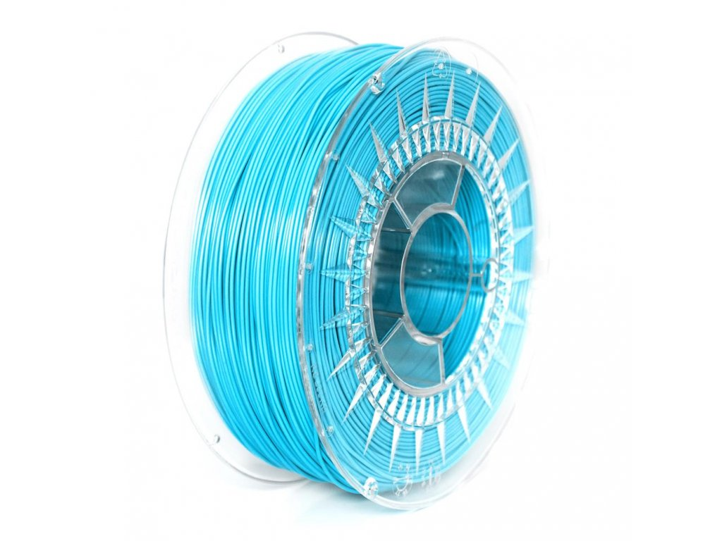 Devil Design tlačová struna PLA, bright blue, 1,75 mm, 1 kg, RGB 0, 175, 215; Pantone 638C