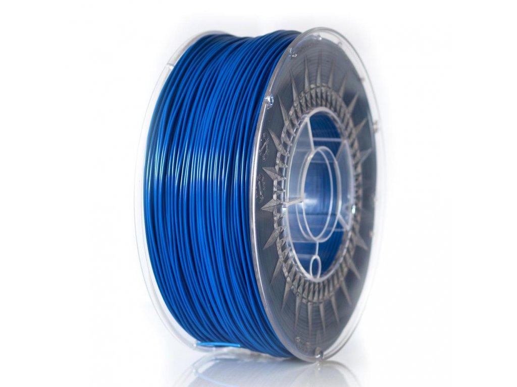 Devil Design tlačová struna PLA, 1,75 mm, 1 kg, super blue, RGB 0, 71, 187; Pantone 2728C