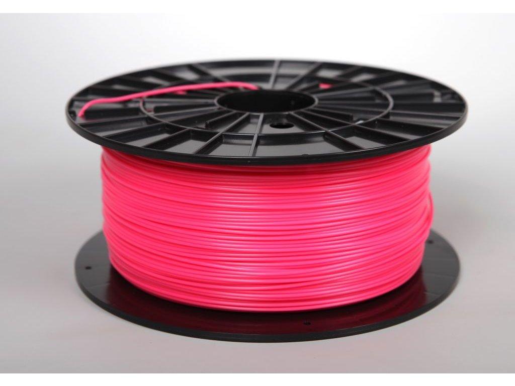Tlačová struna, Plasty Mladeč, PLA, 1,75mm, pink, 1 kg