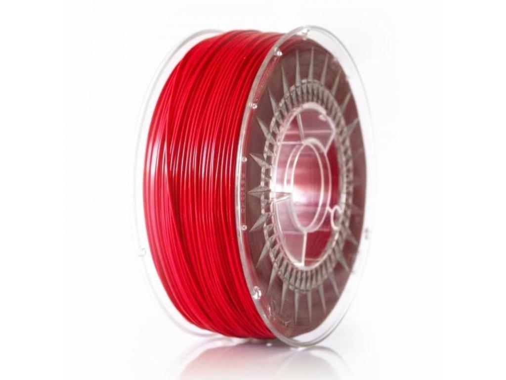 Devil Design tlačová struna PLA, 1,75 mm, 1 kg, raspberry red, RGB 206, 0, 88; Pantone Rubine red C