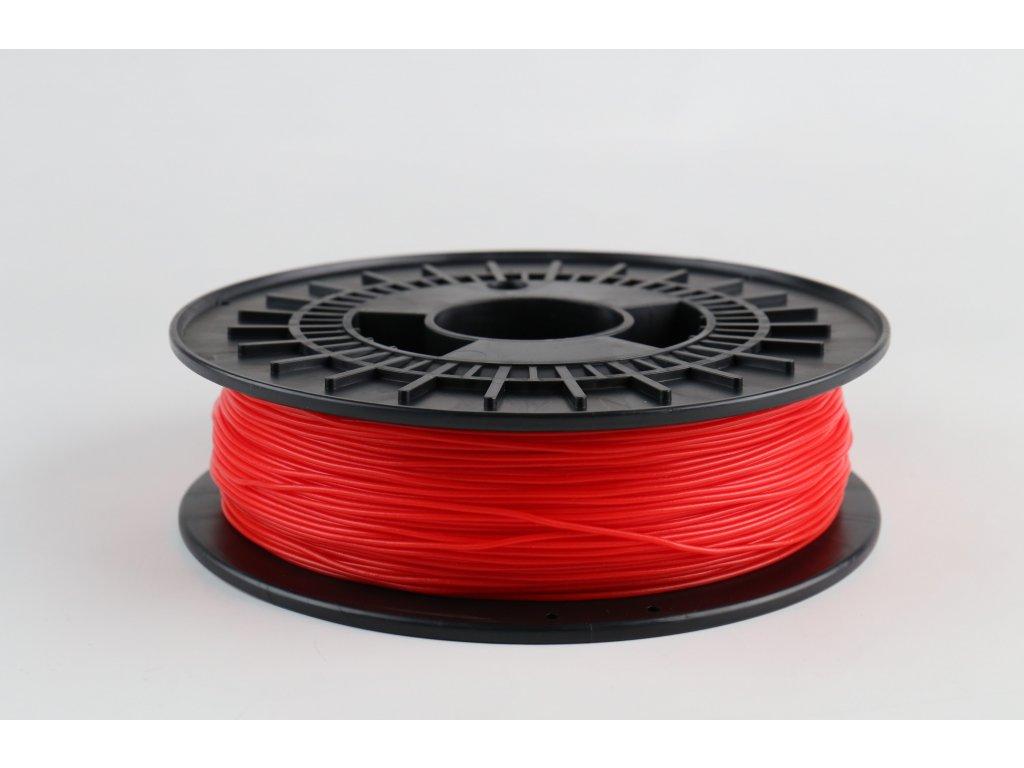 Tlačovástruna flexibilná TPE88, 1,75mm, 500g,Red