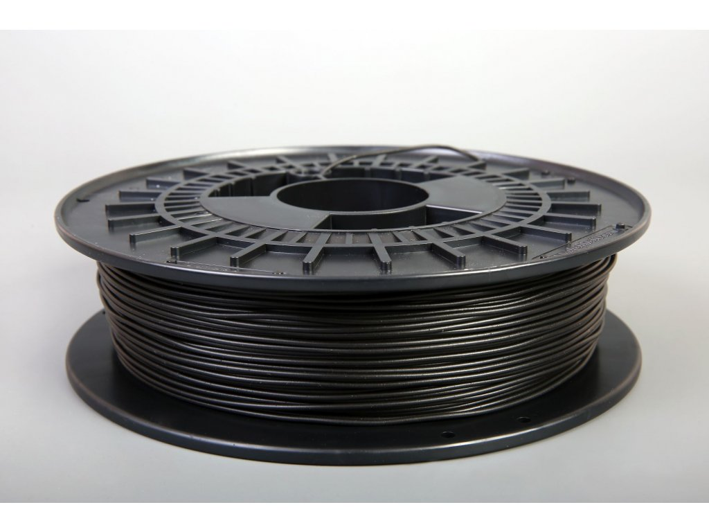 Tlačovástruna flexibilná TPE88, 1,75mm, 500g, Black