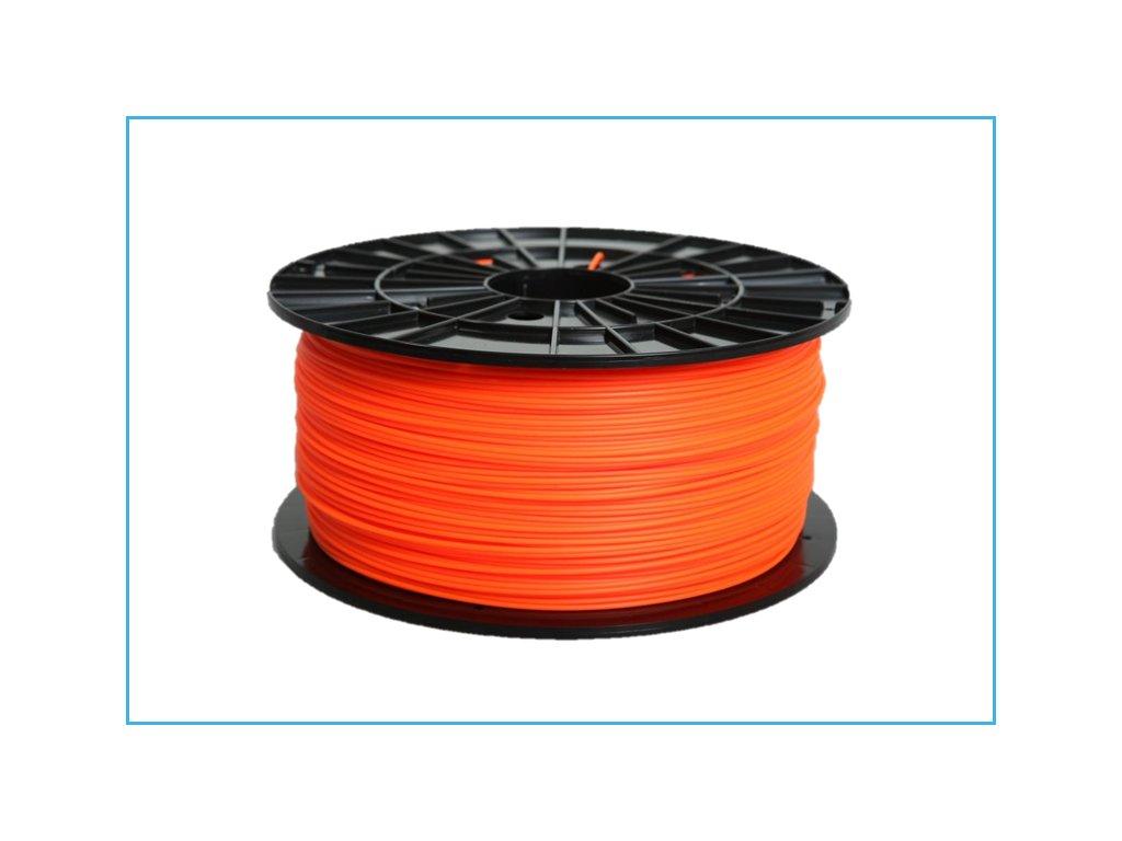 Tlačová struna ABS-T, Plasty Mladeč, 1,75 mm, 1 kg,orange