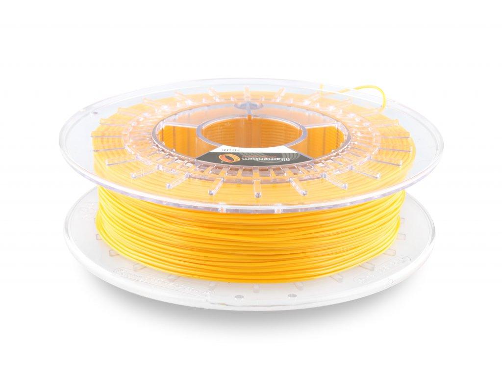 TPU značky Fillamentum 98A, 1,75mm, 0,5kg, žltá RAL1003