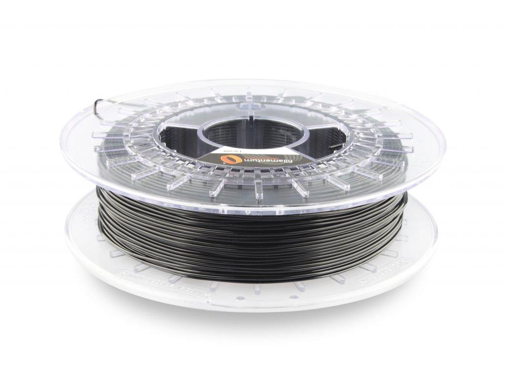 TPU značky Fillamentum 98A, 1,75mm, 0,5kg,čierna RAL 9017