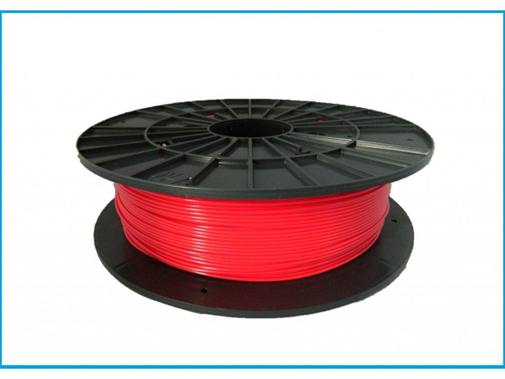 """Nové zloženie - Tlačová struna ABS, Plasty Mladeč, 1,75 mm red, 0,5 kg """"ABS not dead"""""""
