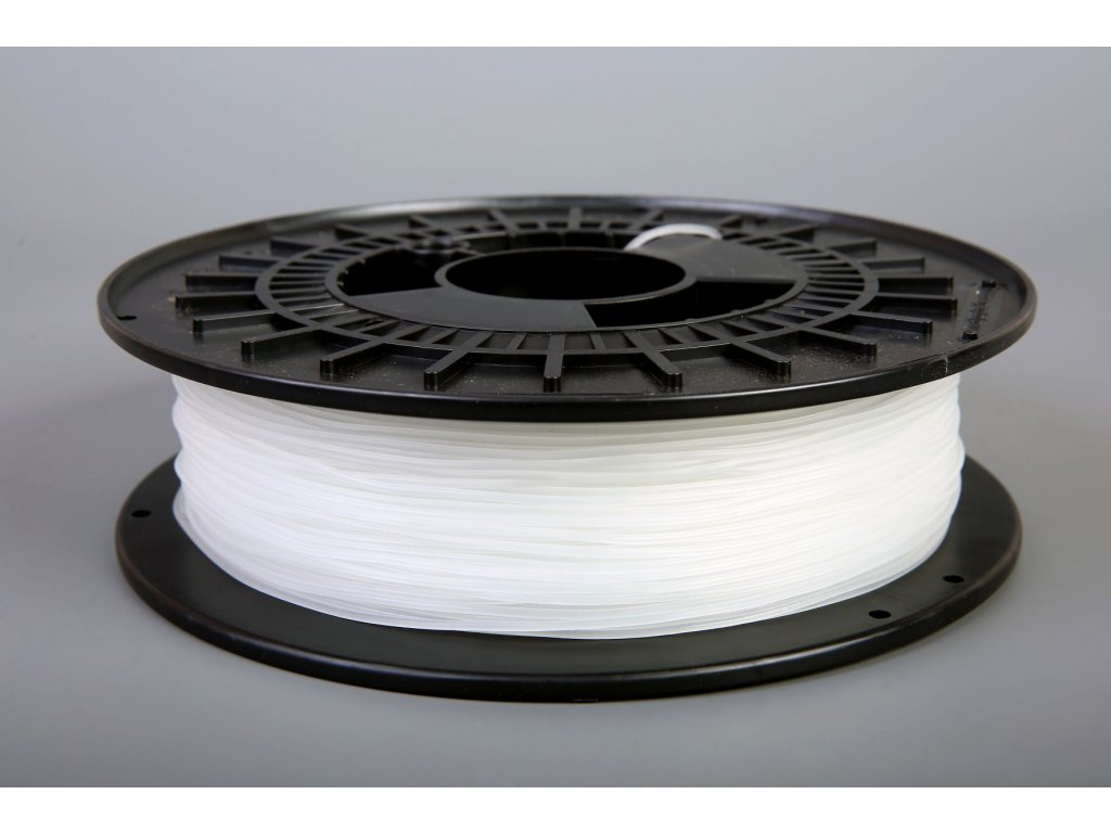 Tlačovástruna flexibilná TPE 88, 1,75mm, 500g,Natural - semi transparent