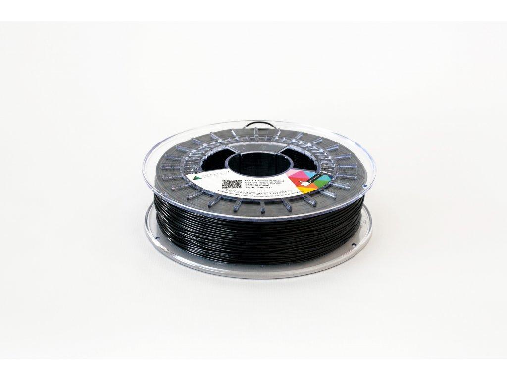 FLEX tlačová struna true black 1,75 mm, Tvrdosť 93A,