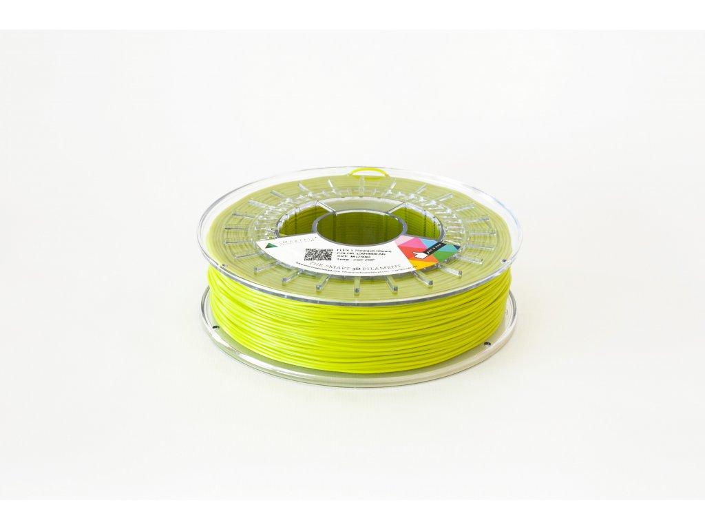 FLEX tlačová struna green caribean 1,75 mm, Tvrdosť 93A