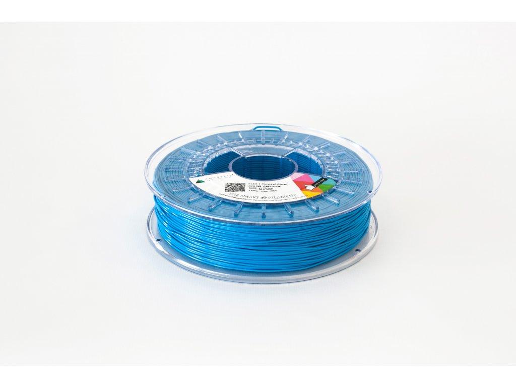 FLEX tlačová struna blue sapphire 1,75 mm SF Pantone Blue 072U,Tvrdosť 93A