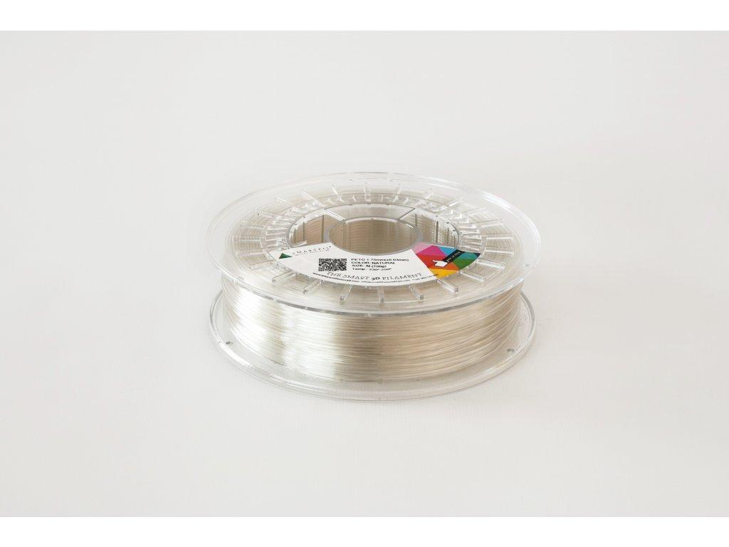 PET G tlačová struna natural 2,85 mm Smartfil Pantone 1205C