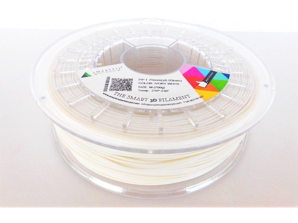 POLYPROPYLEN tlačová struna ivory white 2,85 mm SF Pantone 11-0602 TCX
