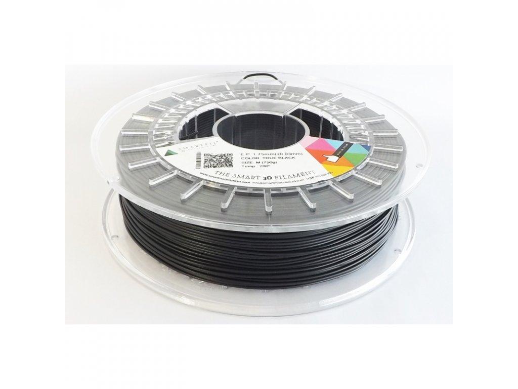 Easy Print tlačová struna s prímesou kriedy true black 2,85 mm Smartfil