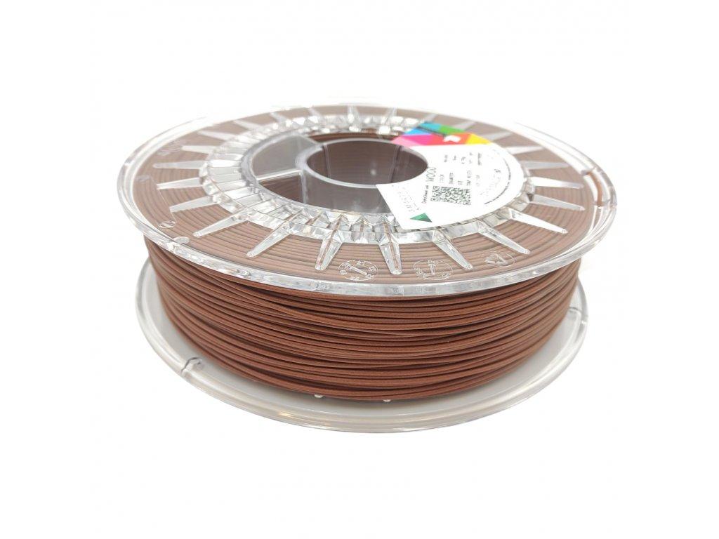 WOOD drevená tlačová struna brown walnut 1,75 mm Smartfil