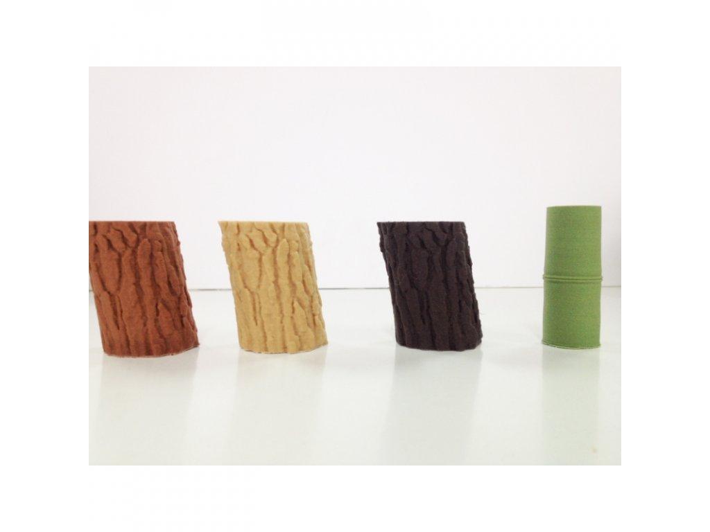 WOOD drevený filament hnedý orech 1,75 mm Smartfil 750 g