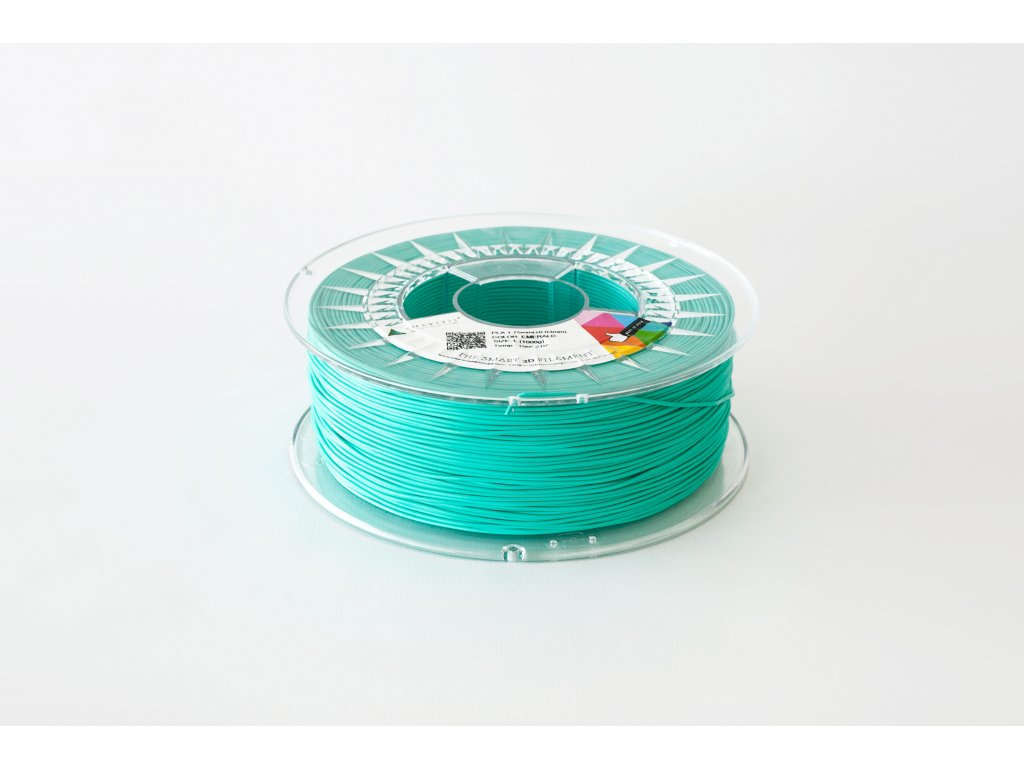 PLA tlačová struna Emerald green 1,75 mm Smartfil