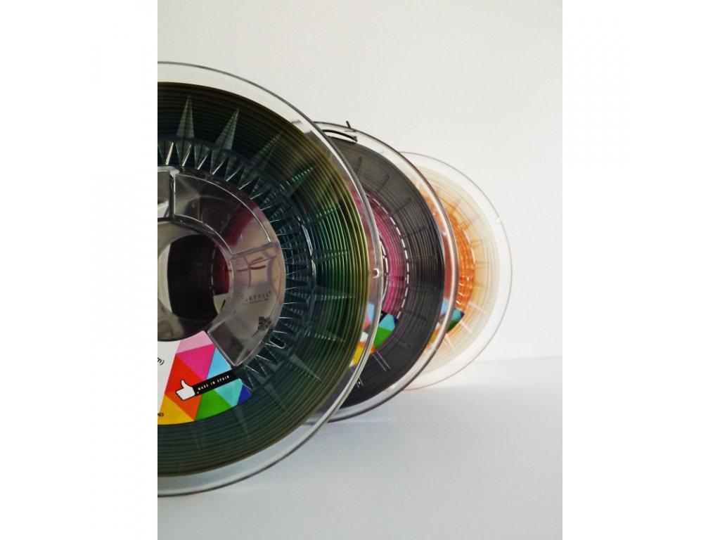 PLA tlačová struna color transition 1,75 mm Smartfil