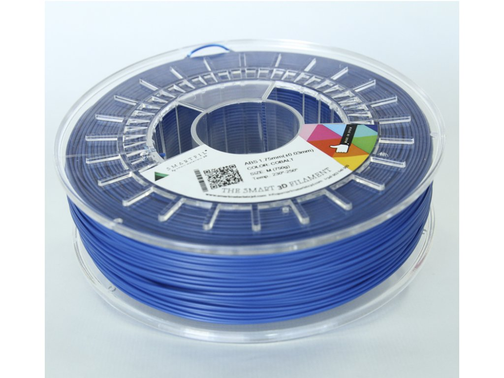 ABS tlačová struna Cobalt 1,75 mm Smartfil Pantone 268C