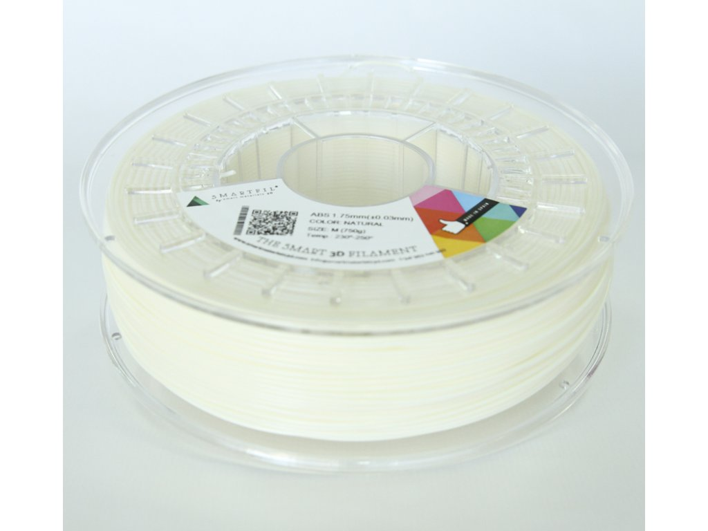 ABS tlačová struna natural1,75 mm Smartfil Pantone 1205C