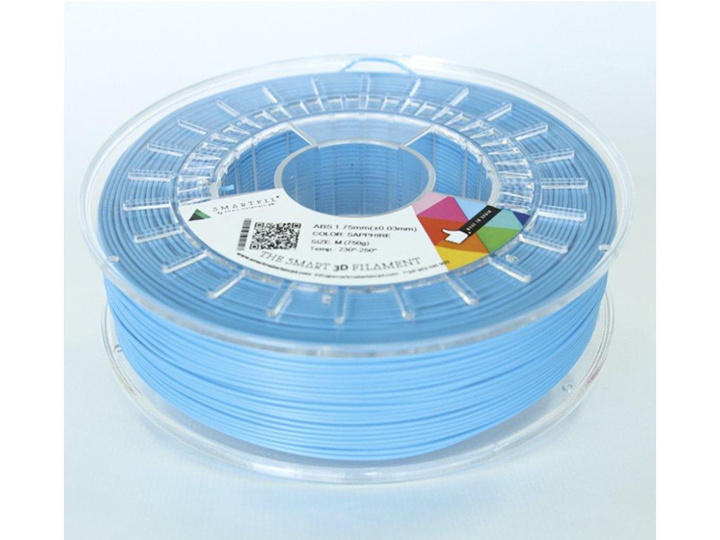 ABS tlačová struna Saphire blue 1,75 mm Smartfil Pantone 2995C