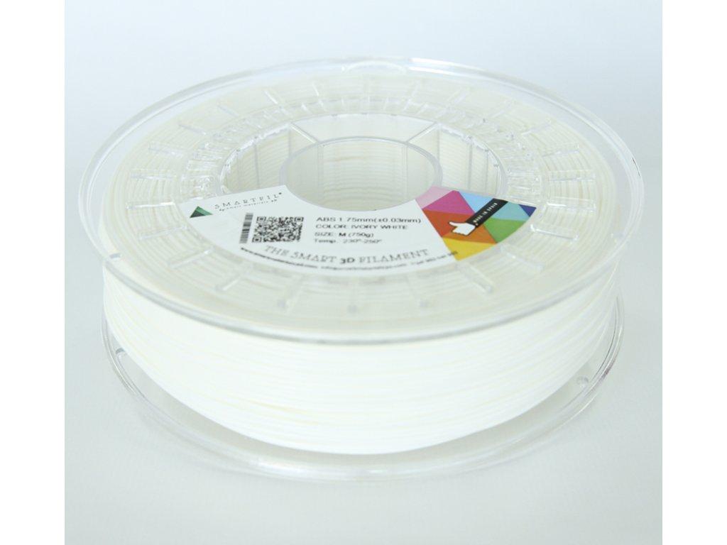 ABS tlačová struna Ivory white 1,75 mm SF Pantone 11-0602 TCX