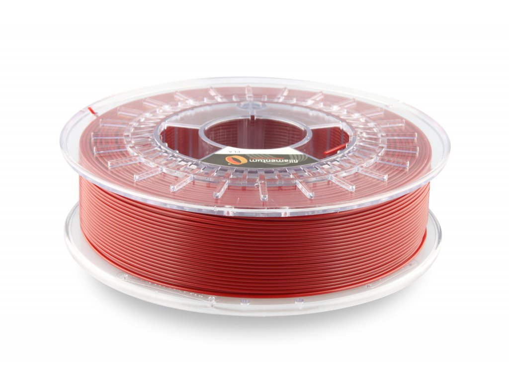 PLA Fillamentum, 1,75mm, 0,75kg , Pearl Ruby Red, RAL 3032, Pantone P208