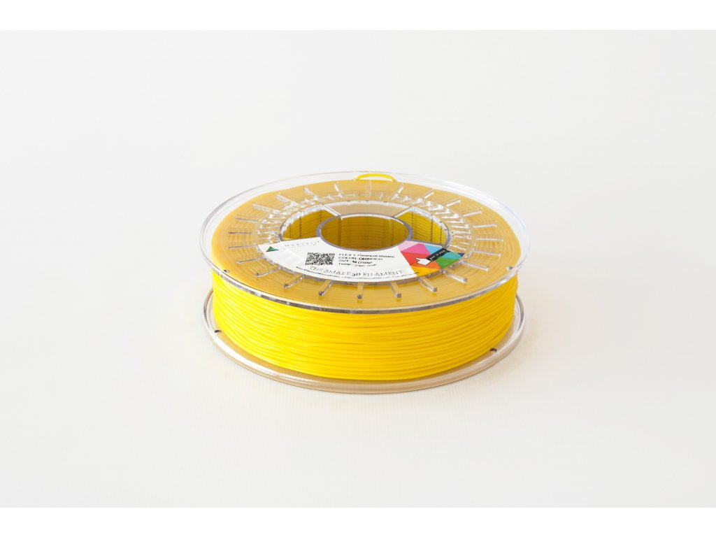 PLA tlačová struna Orinoco yellow 2,85 mm Smartfil Pantone 101C