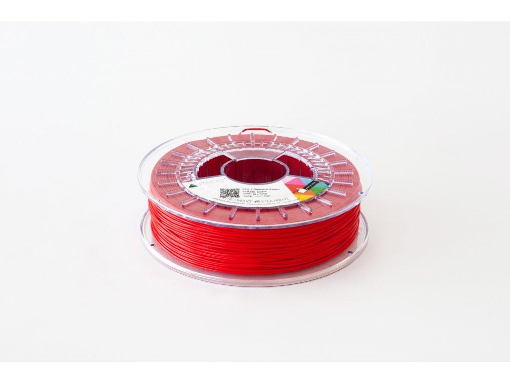 PLA tlačová struna Ruby red 2,85 mm Smartfil Pantone 185C