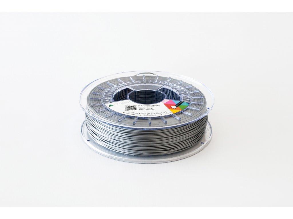 PLA tlačová struna silver 2,85 mm Smartfil Pantone Cool Gray 7C
