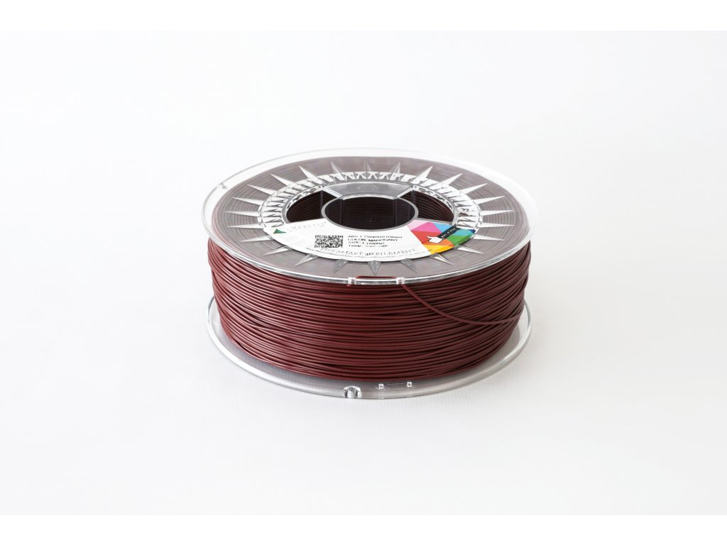 PLA tlačová struna Mahagony2,85 mm Smartfil