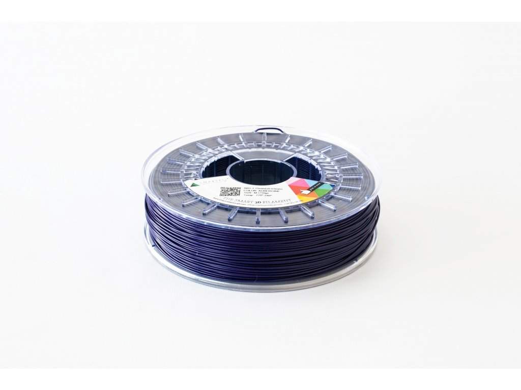 PLA tlačová struna Aubergine dark blue/violet 2,85 mm Smartfil  Pantone 520C