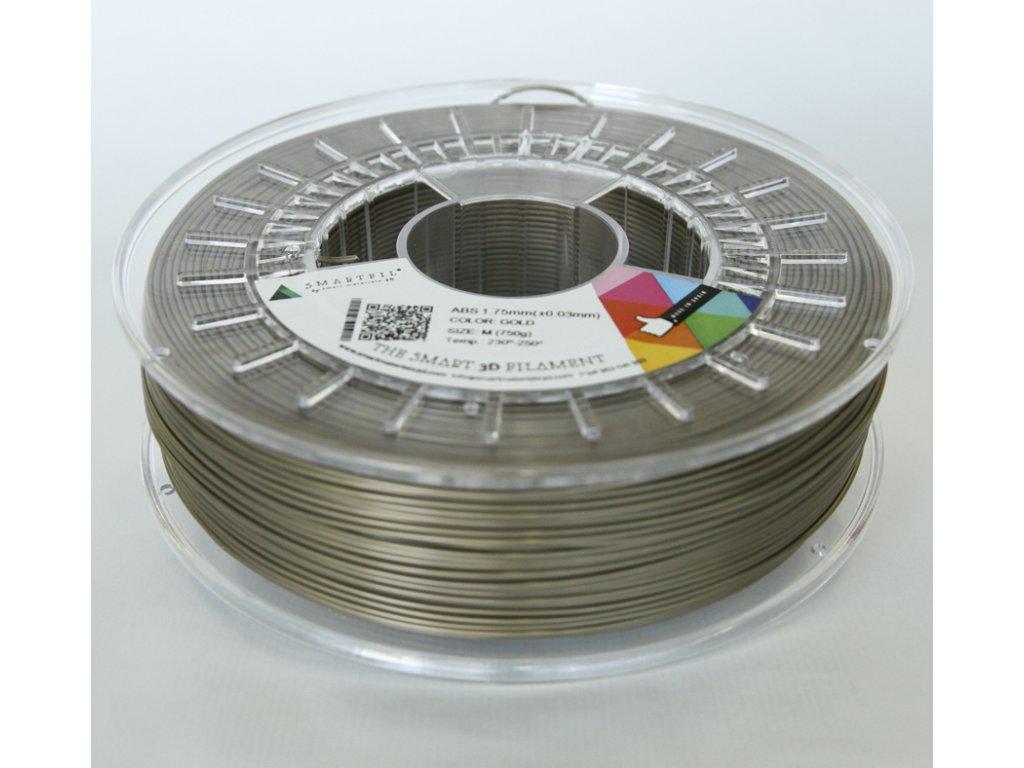 ABS tlačová struna gold 2,85 mm Smartfil