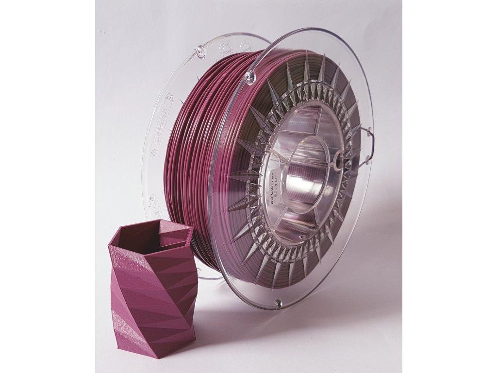 Devil Design tlačová struna PLA, lilac, 1,75 mm, 1 kg