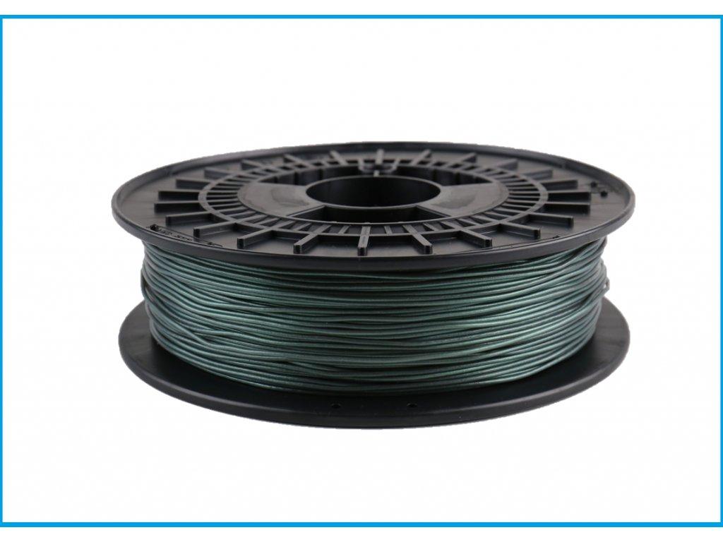 Tlačovástruna flexibilná TPE 88, 1,75mm, 500g, Metallic Green