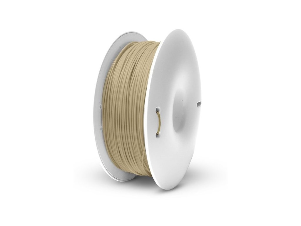 Fiberlogy tlačová struna WOOD, natural, 1,75mm, 0,75kg