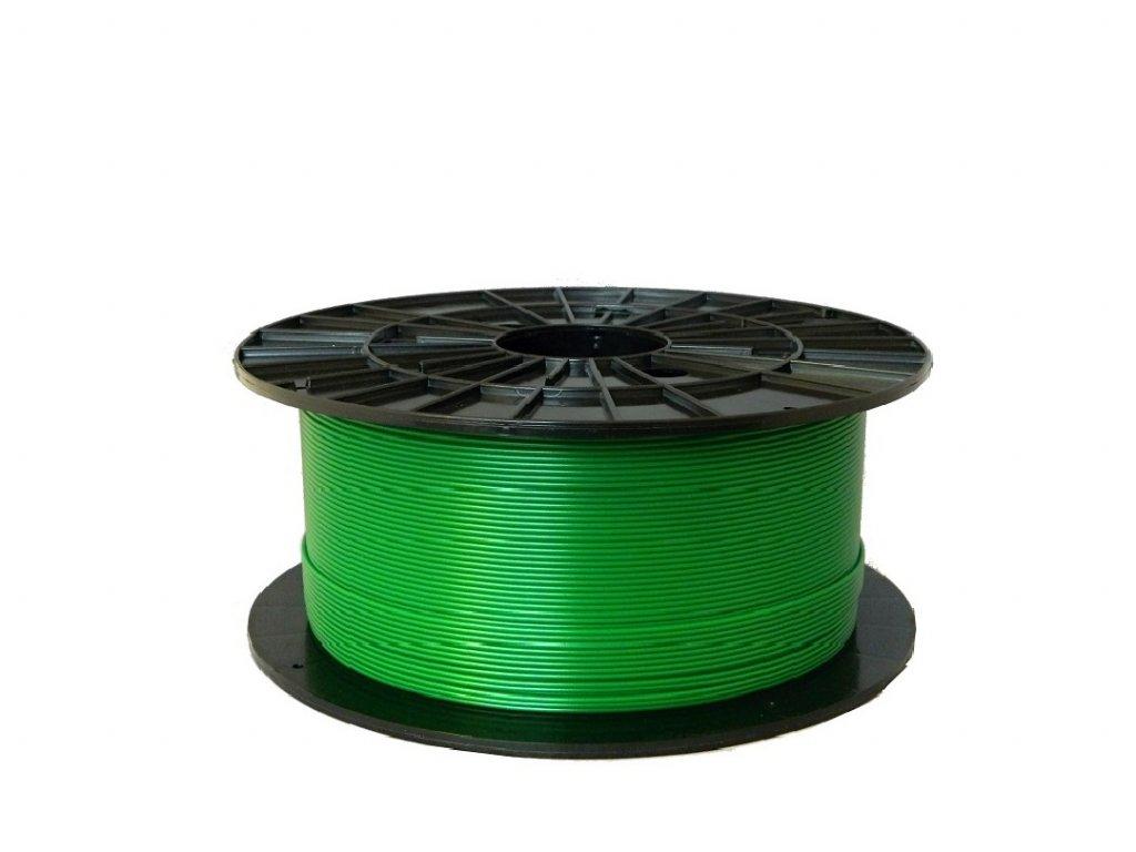 Tlačová struna, Plasty Mladeč, PLA, 1,75mm, pearl green, 1 kg