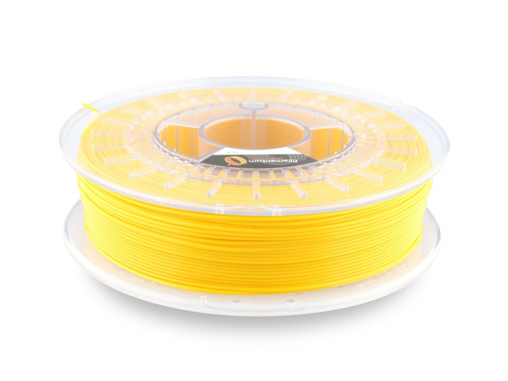 PLA Fillamentum, 1,75mm, 0,75kg , Traffic Yellow, RAL 1023, Pantone P1235