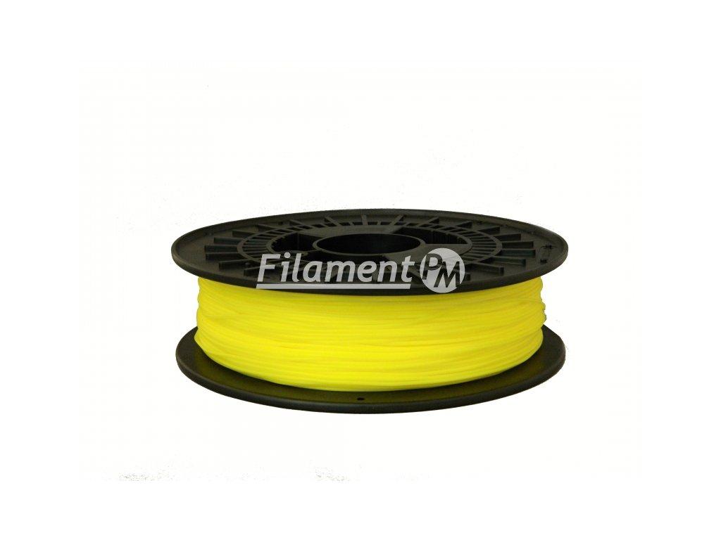 Tlačovástruna flexibilná TPE 88, 1,75mm, 500g, Sulfur Yellow