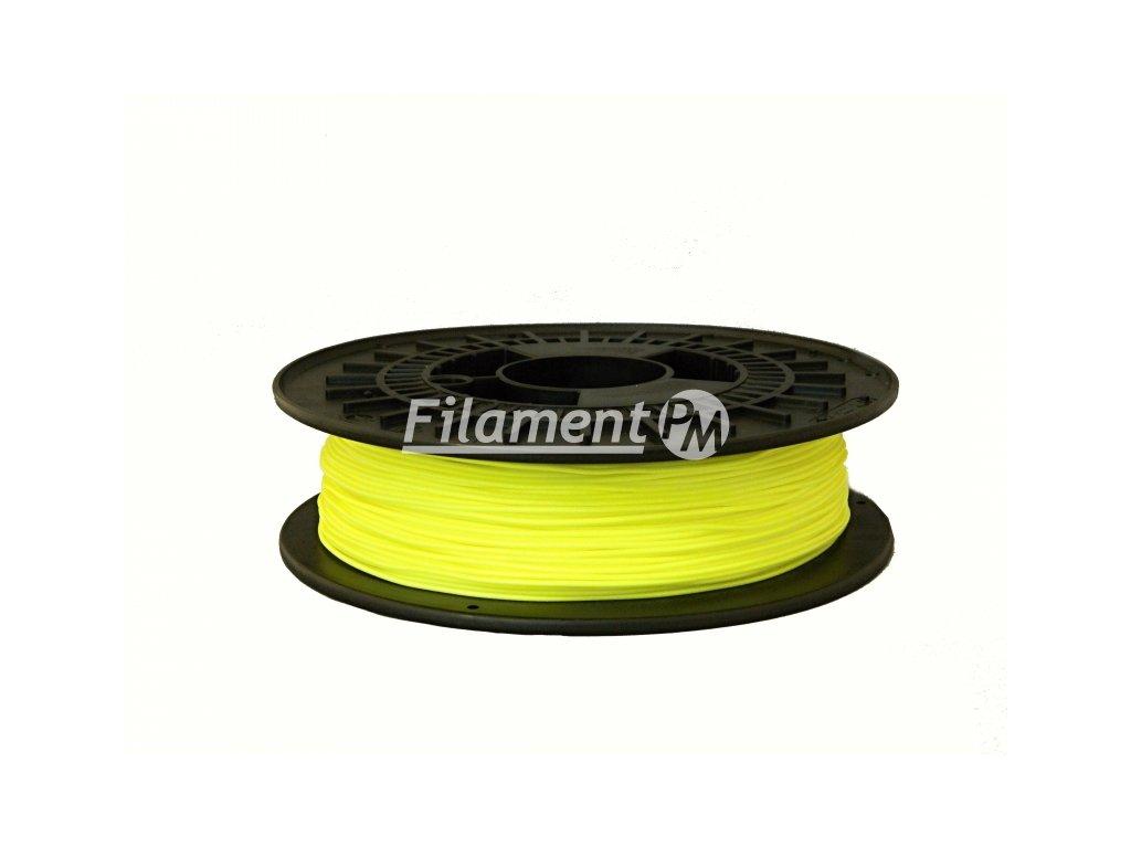 Tlačovástruna flexibilná TPE 32D, 1,75mm, 500g,Fluorescent Yellow