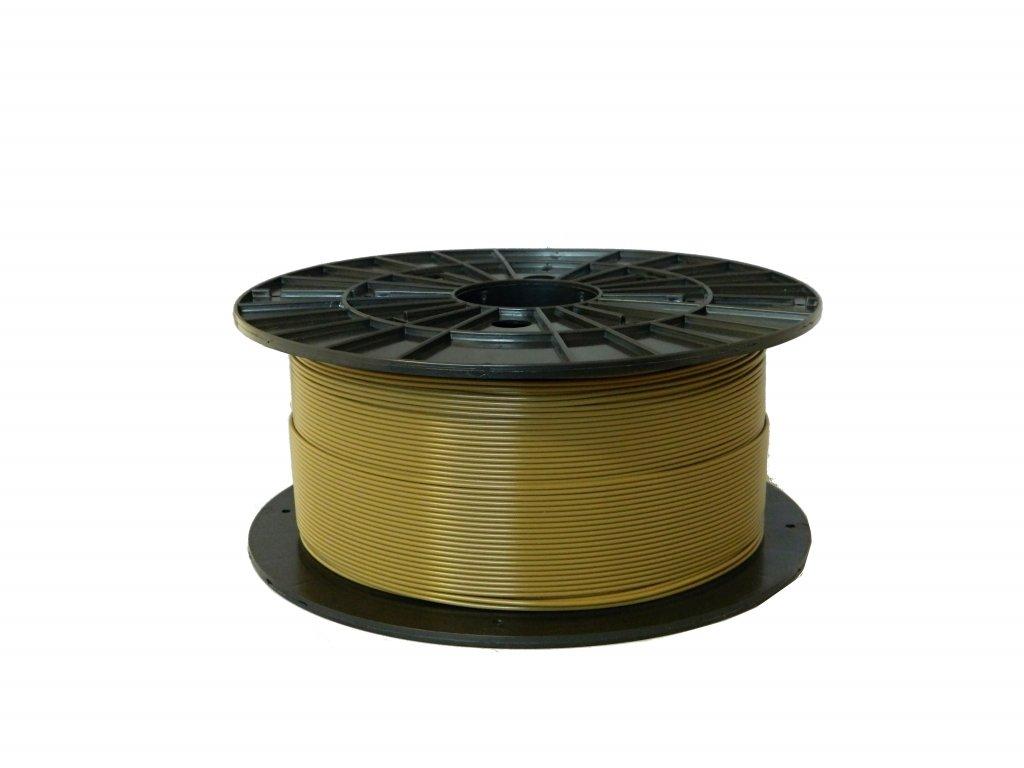 Tlačová struna, Plasty Mladeč, PLA, 1,75mm, khaki, 1 kg