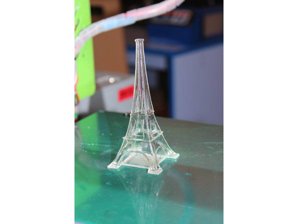 GLACE tlačová struna natural - transparent like glass 1,75 mm Smartfil