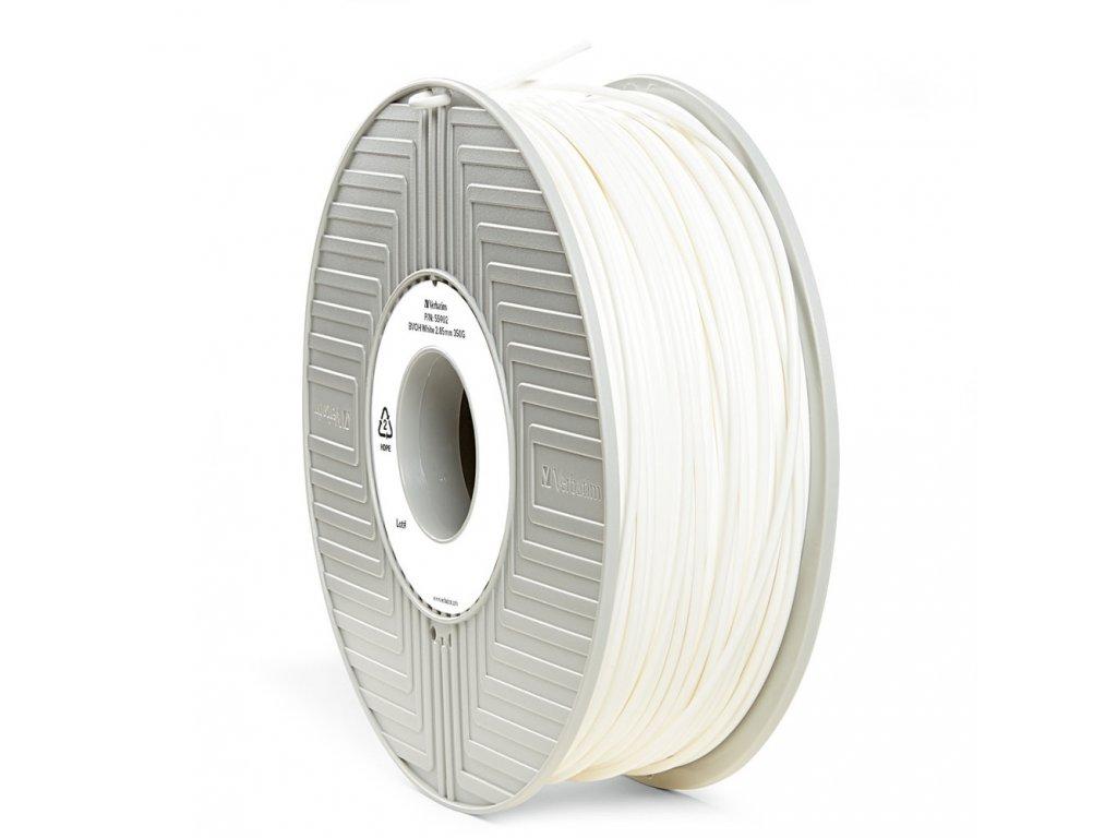 Verbatim tlačová podporná struna BVOH white, 1,75 mm, 500 g